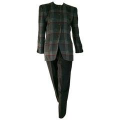 Giorgio ARMANI cashmere grey jacket trousers suit - Unworn, New