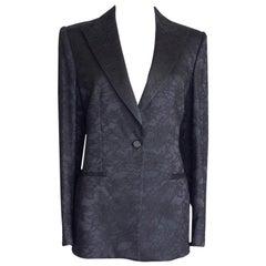 Giorgio Armani Lace Tuxedo Jacket 48fits 8 / 10 New