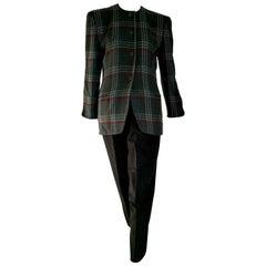 "Giorgio ARMANI ""New"" Cashmere Gray Jacket Trousers Suit - Unworn"