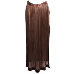 Giorgio Armani Pleated Skirt