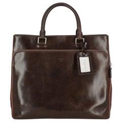Giorgio Armani Woman Handbag  Brown Leather