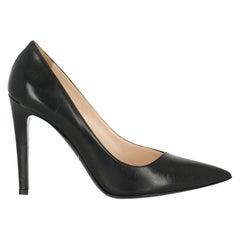 Giorgio Armani Woman Pumps Black Leather IT 37
