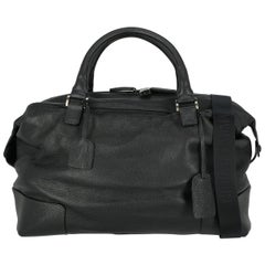Giorgio Armani Woman Travel bag Navy Leather