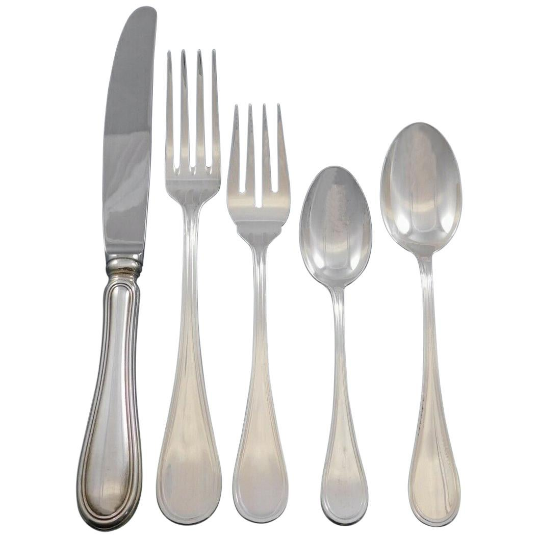 Giorgio by Wallace Italy Sterling Silver Flatware Set Service Dinner 40 Pieces