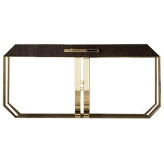 Giorgio Collection Infinity Makore Mahogany Console