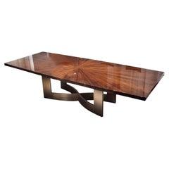 Giorgio Collection Rectangular Table in Brazilian Rosewood