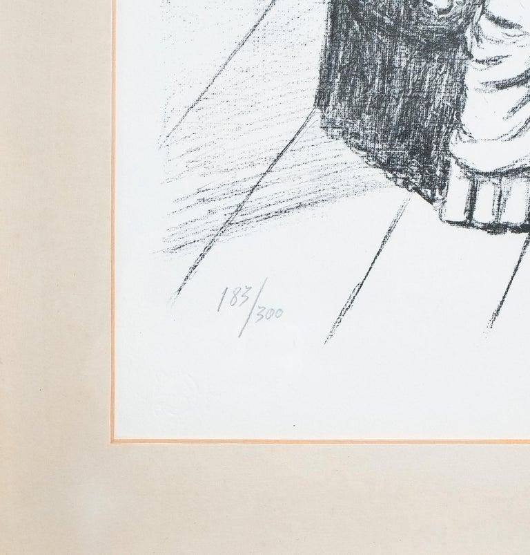 Giorgio De Chirico Lithographie