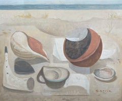 Still Life by the Sea (surrealist landscape)