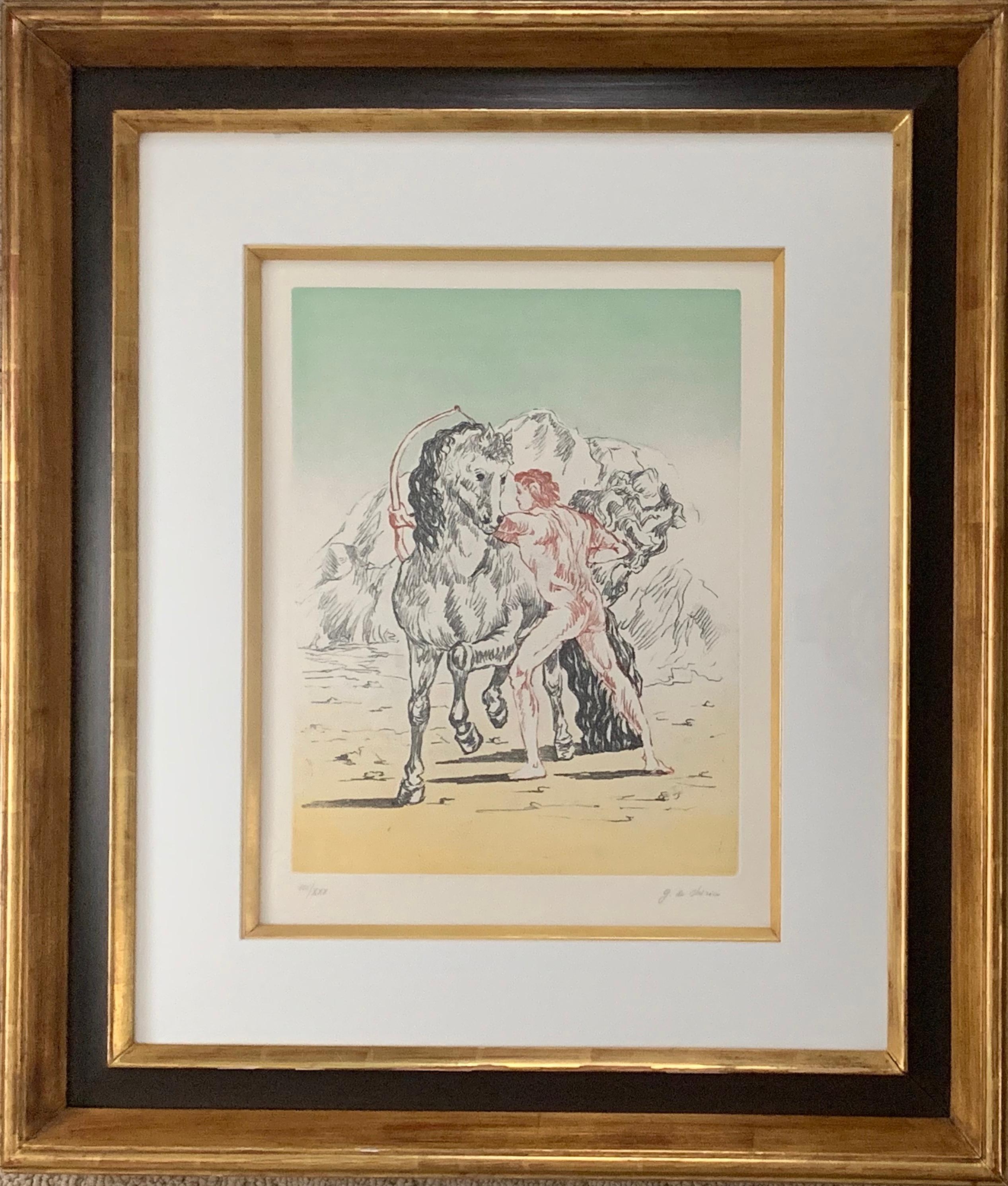 Arciere con cavallo (Archer with horse)