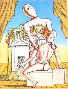 Orestes and Pylades (Second Version) - Italian Art, Etching, Aquatint
