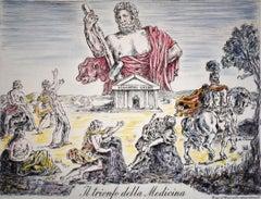 The Triumph of Medicine Il trionfo della medicina - Italian Art, Lithograph
