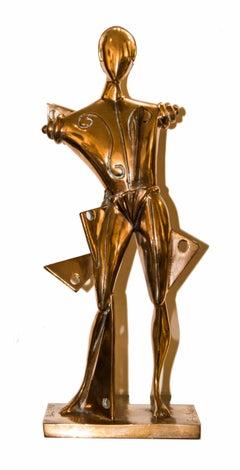 Oreste - Original Bronze Sculpture After Giorgio De Chirico