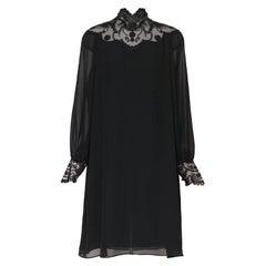 Giorgio di Sant' Angelo vintage silk & lace dress