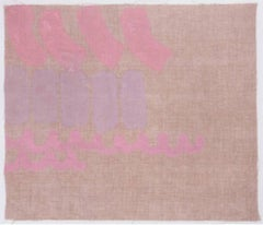 Tre colori - Original Acrylic Paint by Giorgio Griffa - 1980