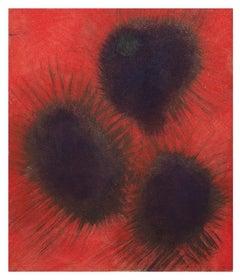 Black Holes - Original Oil on Board by Giorgio Lo Fermo - 2010