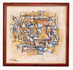Descrip - Abstract Expression - Original Oil paint by Giorgio Lo Fermo - 2015