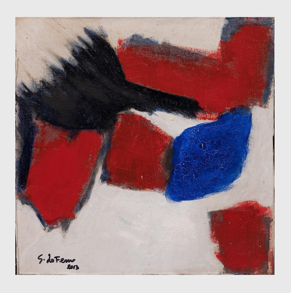 French Flag - Original Oil Paint by Giorgio Lo Fermo - 2013