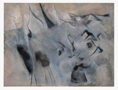 Grey Composition - Original Oil Paint by Giorgio Lo Fermo - 2020
