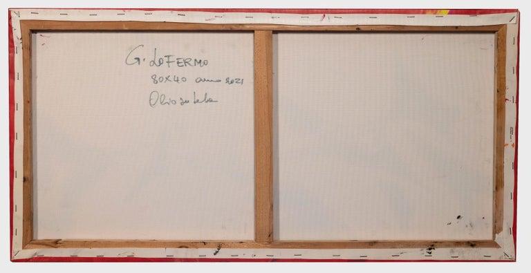 Ideograms - Original Oil paint by Giorgio Lo Fermo - 2021 For Sale 2