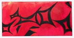 Ideograms - Original Oil paint by Giorgio Lo Fermo - 2021