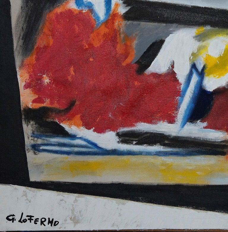 Informal  - Original Oil On Canvas by Giorgio Lo Fermo - 2008 For Sale 1