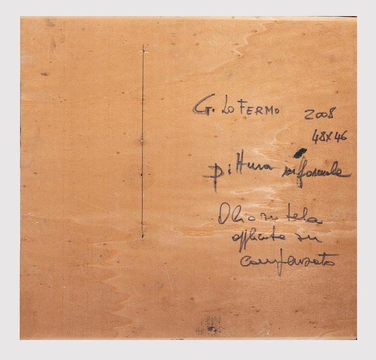 Informal  - Original Oil On Canvas by Giorgio Lo Fermo - 2008 For Sale 2