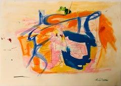 Mixed Colors Composition - Original Tempera by Giorgio Lo Fermo - 2020