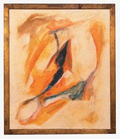 Orange Composition - Original Oil paint by Giorgio Lo Fermo - 2012