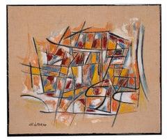 Reticulum - Original Oil Paint by Giorgio Lo Fermo - 2020