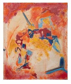 Untitled Composition - Original Oil on Canvas by Giorgio Lo Fermo - 2020