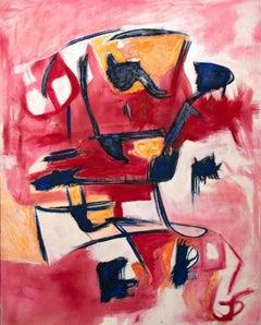 Violent Violet - Original Oil Painting by G. Lo Fermo - 2020