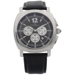 Giorgio Milano Stainless Steel Black Dial Quartz Men's Watch 864ST032