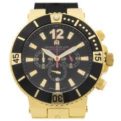 Giorgio Milano Stainless Steel Chronograph Black Dial Men's Watch 884SG0313