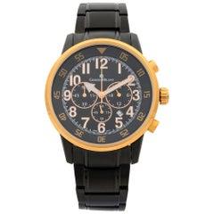 Giorgio Milano Stainless Steel Chronograph Men's Quartz Watch GM854RGL-BK