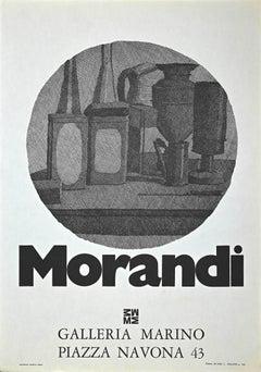 Giorgio Morandi Vintage - Offset Print - 1975