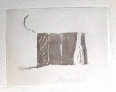 Grey Volumes - Vintage Offset Print after Giorgio Morandi - 1973