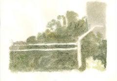 Landscape  - Vintage Offset Print after Giorgio Morandi - 1973