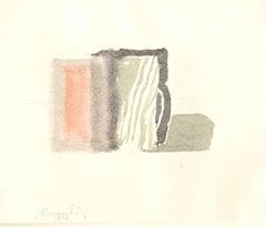 The Jugs - Vintage Offset Print after Giorgio Morandi - 1973