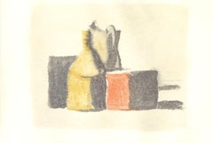 Vases - Vintage Offset Print after Giorgio Morandi - 1973