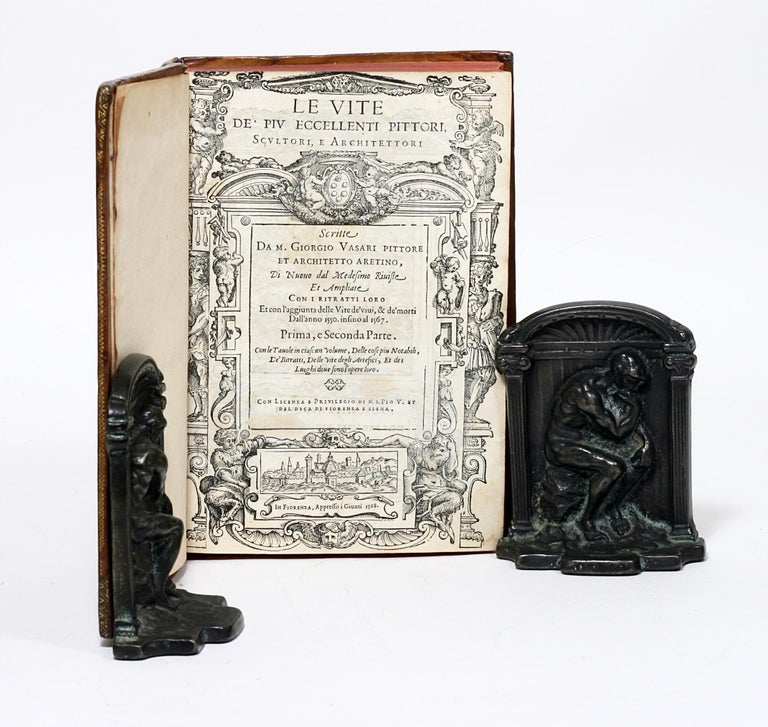 Renaissance Giorgio Vasari, First Complete Edition of Lives of the Artists, 1568 For Sale