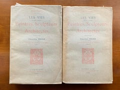 Giorgio Vasari ' The Lives of the Painters, Sculptors and Architects' Two Volume