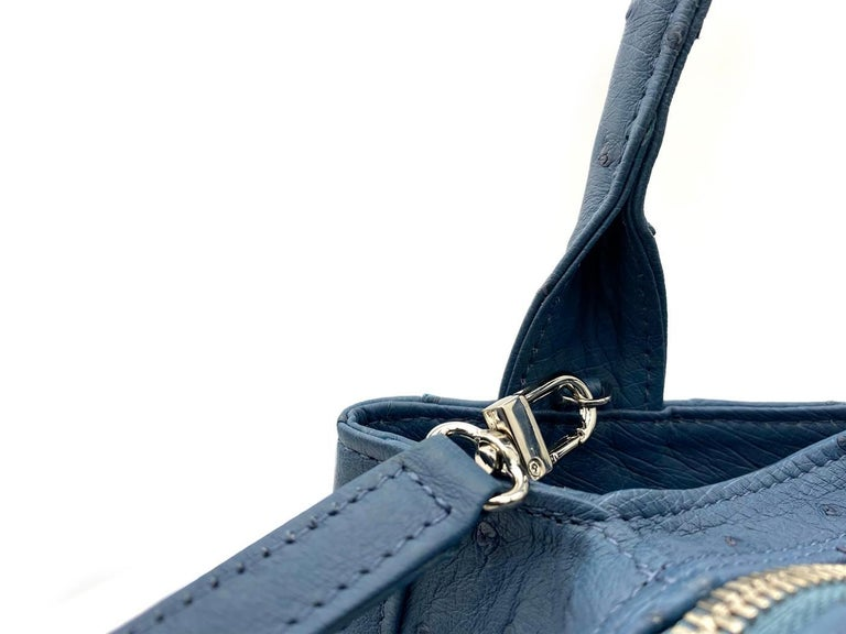 Women's Giòsa Milano Jeans Ostrich Bag For Sale