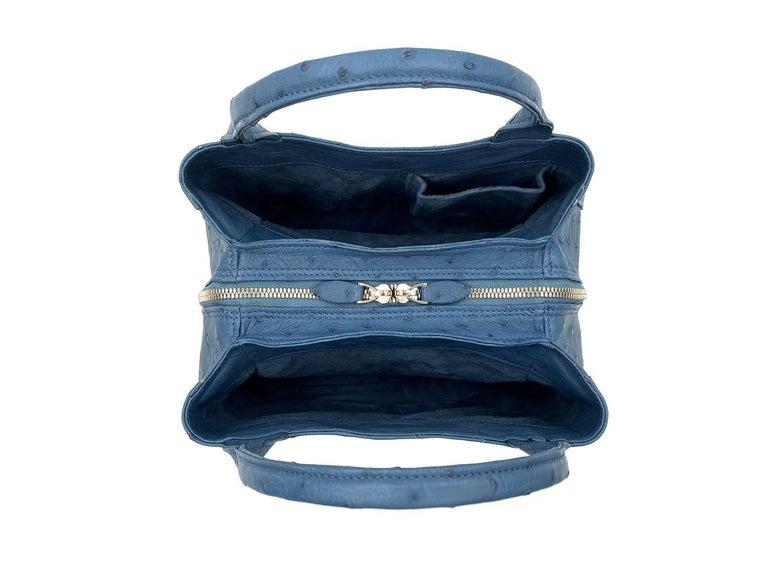 Giòsa Milano Jeans Ostrich Bag For Sale 5