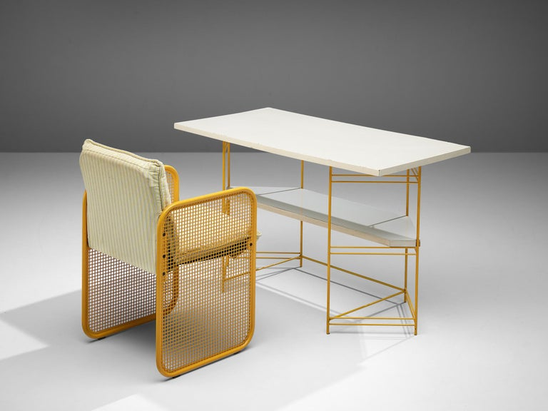 Giotto Stoppino Desk and Armchair, 1970s For Sale 1