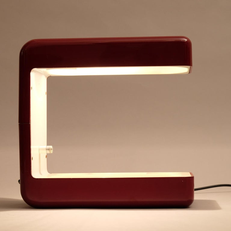 Giotto Stoppino, Isos Table Lamp, 20th Century For Sale 3