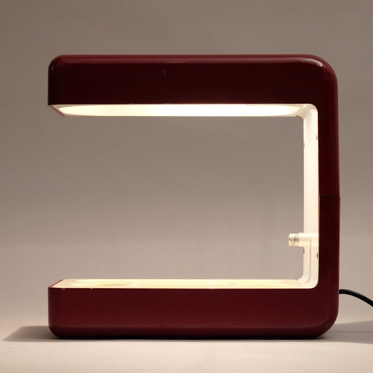 Giotto Stoppino, Isos Table Lamp, 20th Century For Sale 4