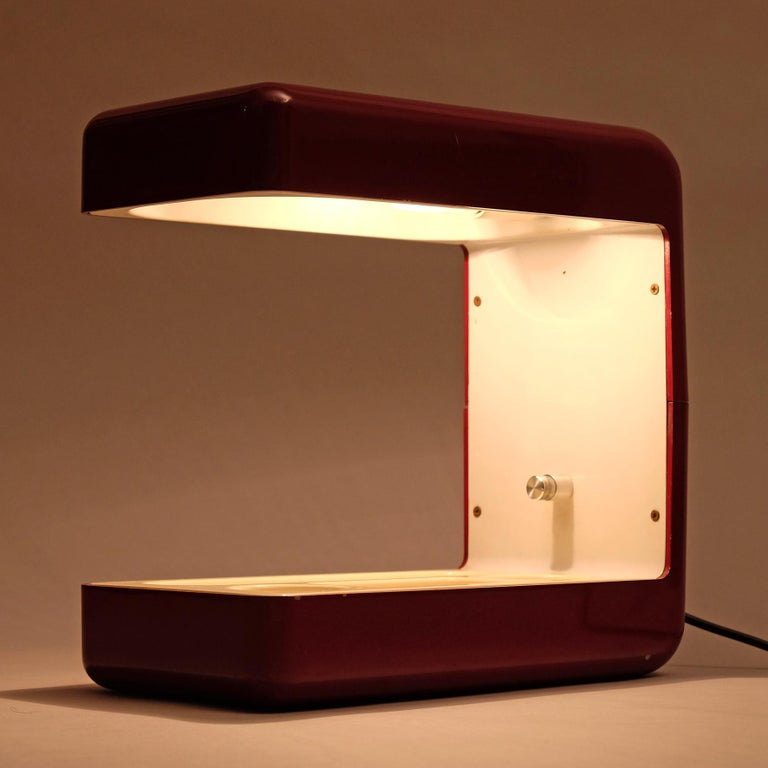 Giotto Stoppino, Isos Table Lamp, 20th Century For Sale 5