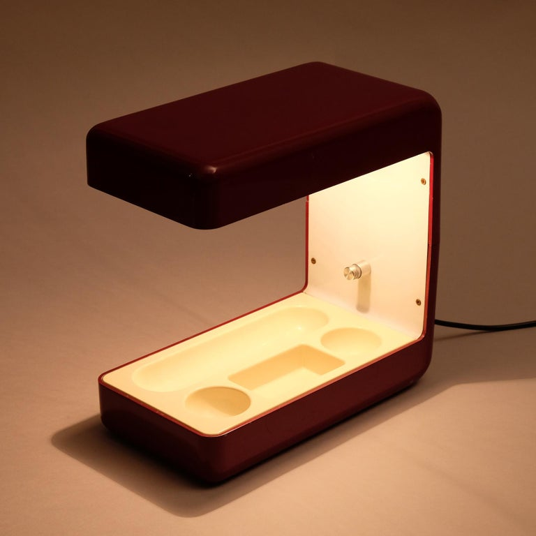 Late 20th Century Giotto Stoppino, Isos Table Lamp, 20th Century For Sale