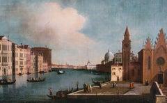 The Grand Canal with Santa Maria Della Carita, 18th Century  School Of CANALETTO