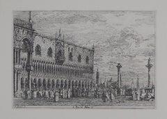 Venice: Ducal Palace - Héliogravure, 1975